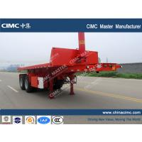 Wholesale CIMC 20ft container tipping trailer from china suppliers