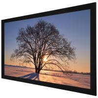 Wholesale Custom 100 Inch 4K Ultra HD  Fixed Frame Screen / home theatre projection screen from china suppliers