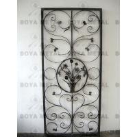 Wholesale Ornamental Forged Iron Door from china suppliers