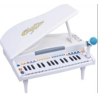 Wholesale Functional Plastic Toddler Toy Piano 32 Keys Grand Type With Microphone from china suppliers