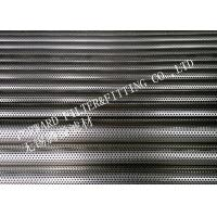 Wholesale SUS304 / SUS316 Stainless Steel Perforated Steel Pipe With Powder Coated from china suppliers