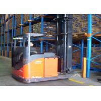 Quality Warehouse Drive In Pallet Racking , Push Back Pallet Racking 1000kg~6000kg ISO 9001 for sale
