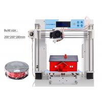 Wholesale Desk Top Industrial 3D Printer Heated Bed White Single Extruder Metal Plate from china suppliers