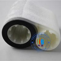 Wholesale Printer uv ribbon resin material  black to green  90mm*450m suits for PVC PET white PVC card from china suppliers
