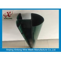 Wholesale Dark Green Varoius Guage Fence Post Accessories With CE / ISO Certificate from china suppliers