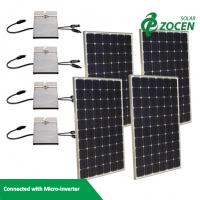 Wholesale Import 235 W Monocrystalline Solar Panels With Solar Connectors from china suppliers