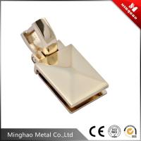Quality Bag metal d ring buckle,light gold bag metal accessories 20.24*27.4mm for sale