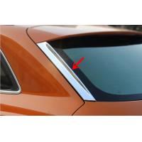 Wholesale Audi Q3 2012 Car Window Trim , Plastic ABS Chromed Back Window Garnish from china suppliers