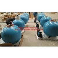 Wholesale 25 Inch Fiberglass Swimming Pool Sand Filters With Pump Set Filtration System from china suppliers