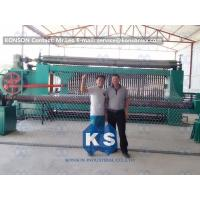 Wholesale Galvanized Gabion Production Line With Accurate Mesh With PLC Control System from china suppliers