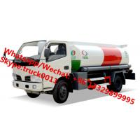Wholesale 2017s high quality and lowest price CLW 5,000Liters oil dispensing truck for sale, HOT SALE! CLW 5cbm refueler truck from china suppliers