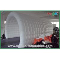 Wholesale Waterproof White Inflatable Event Air Tent , Customized Inflatable Tunnel from china suppliers