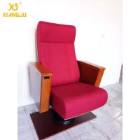 Wholesale Europe Wooden Auditorium Theater Seating Independent / Single leg Strong Structure from china suppliers