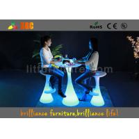 Wholesale 16 Colors Changed Bar Tables , Interactive Bar Table Wtih 5v Voltage from china suppliers