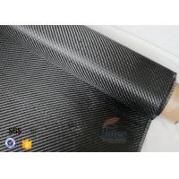 Wholesale 3K 200g 0.3mm Carbon Fiber Fabric For Reinforcement , Heat Resistant Insulation Materials from china suppliers