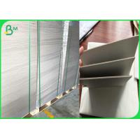 Wholesale 1.5mm 1500 micron greyboard with white face paper on one side for dry - mounting or backing from china suppliers
