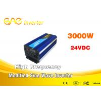 Wholesale Single Phase Modified Sine Wave Inverter / 3000w Power Inverter 32 Bits DSP from china suppliers