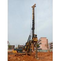 Wholesale Yellow Rotary Piling Rig Foundation Construction 72 M / Min Main Winch Line Speed from china suppliers