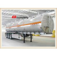 Wholesale Oil Tanker Lpg Semi Trailer Tanker 3 Axle Fuel Tanker Trailer With Transport Fuel Tanks from china suppliers