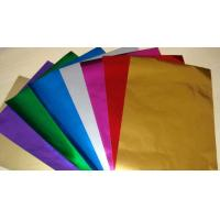 Wholesale Embossing Colored Aluminum Foil For Chocolate Wrapping Non Toxic / Hygienic from china suppliers
