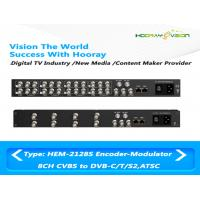 Wholesale All-In-One Device Digital TV Encoder Modulator CVBS SDI ASI Input DVB-C ATSC-T RF Out from china suppliers