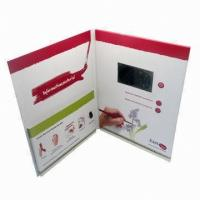 Wholesale Magnetic switch LCD screen Video Greeting Card for Precious Mothers'day gift from china suppliers