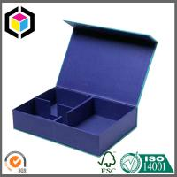 China Glossy Blue Color Printed Packaging Gift Box; Luxury Customized Gift Box on sale