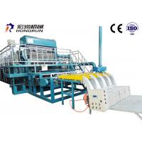 Quality Green / Orange Color Egg Carton Making Machine Energy Saving 35m*15m*6m for sale