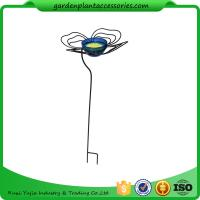 """Wholesale Decorative Steel Garden Stakes , Metal Butterfly Feeder Garden Stakes 13-1/2"""" in diameter x 36"""" H Butterfly feedoverall from china suppliers"""