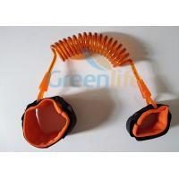 Wholesale New Fashion Economical Baby Toddler Anti Lost Leash Safety Velcro Wrist Link Hot Orange Color from china suppliers