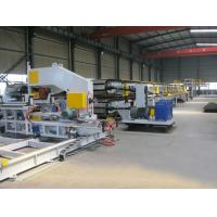 Quality Japan Mitsubishi PLC Aotomatic Control  PU Sandwich Panel Production Line for sale