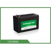 Wholesale 9Ah 12 Volt Lithium Battery Deep Cycle , Rechargeable Lithium Battery Pack from china suppliers
