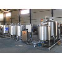 Wholesale Flavored Fresh Milk Processing Machine / Dairy Milk Production Machinery from china suppliers