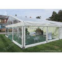 Wholesale Transparent PVC Fabric Cover Outdoor Luxury Wedding Tents with Aluminum Frame from china suppliers