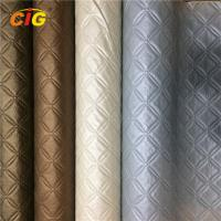 Wholesale Decoration Emboss And Pinted PVC Artificial Leather For Furniture Anti Mildew from china suppliers