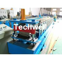 Wholesale HRC58-62 Hardness Standing Seaming Roofing Panel Machine For Making Roof Wall Cladding , Roofing Sheet from china suppliers