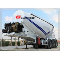 Wholesale Bulk cargo trailer cement truck powder material semi trailer with CCC certification from china suppliers