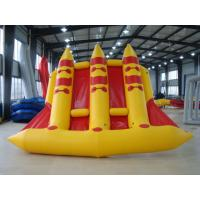 Wholesale Crazy Towable Surfing Water Sport Games Fordable Inflatable Flying Fish Boat 6 Person from china suppliers