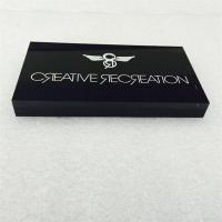 Wholesale Silk screen printing acrylic LOGO block from china suppliers