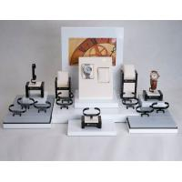 Wholesale Fashion Countertop Watch Display Glossy Black MDF & White Acrylic 660*400*360mm from china suppliers