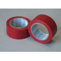 Wholesale Red Adhesive Floor Marking Tape PVC Film Thickness 0.5MM For Pipe Wrapping from china suppliers
