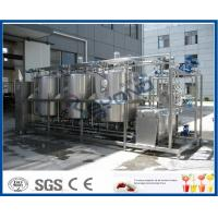Wholesale 1000L - 10000L Cleaning In Place System , Cip Systems Dairy Industry With 4 Tank Double Circuits from china suppliers
