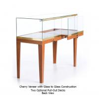Wholesale Quarter Vision  Jewelry Display Showcase , Tabletop Jewelry Display Case With Lock from china suppliers