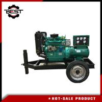 Wholesale 30kw / 37.5Kva 4 Cylinders Silent Diesel Generator Set / Movable Trailer Mounted Generator from china suppliers