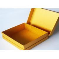 Wholesale Yellow Antique Lamination Printed Gift Boxes With lids For Clothes from china suppliers