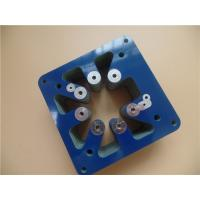 Wholesale Thick Copper PCB Built On 4oz FR-4 blue soldermask With 3.2mm Thick from china suppliers