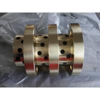 Wholesale CuZn25Al5 Bronze bushing with graphite MOS2 bearings with solid lubricant embedded from china suppliers