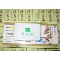 Wholesale All Nature Klg Herbal Pills , Sexual Activity Penis Enlargement Tablet 3 Years Guarantee from china suppliers