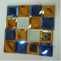 Wholesale bathroom spell mirrors glasses colorful glass mosaic decorative glass from china suppliers