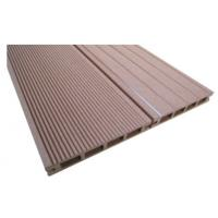 Wholesale 151 x 25mm WPC Hollow Decking , Eco - Friendly Composite Decking Board from china suppliers